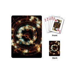 Science Fiction Energy Background Playing Cards (mini)
