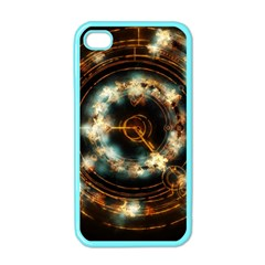 Science Fiction Energy Background Apple Iphone 4 Case (color)