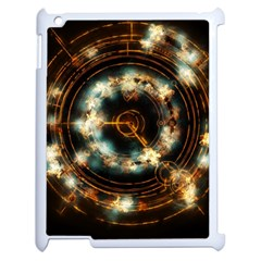 Science Fiction Energy Background Apple iPad 2 Case (White)
