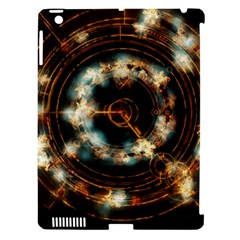 Science Fiction Energy Background Apple iPad 3/4 Hardshell Case (Compatible with Smart Cover)