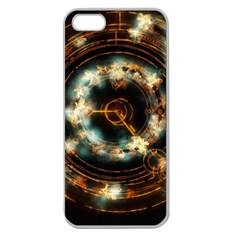 Science Fiction Energy Background Apple Seamless iPhone 5 Case (Clear)