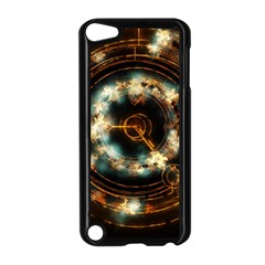 Science Fiction Energy Background Apple iPod Touch 5 Case (Black)