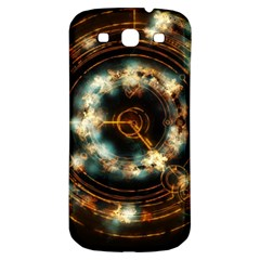Science Fiction Energy Background Samsung Galaxy S3 S III Classic Hardshell Back Case