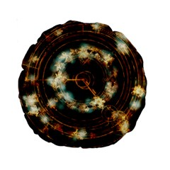 Science Fiction Energy Background Standard 15  Premium Round Cushions