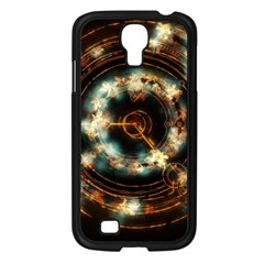 Science Fiction Energy Background Samsung Galaxy S4 I9500/ I9505 Case (Black)
