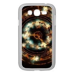Science Fiction Energy Background Samsung Galaxy Grand DUOS I9082 Case (White)
