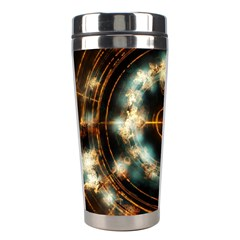 Science Fiction Energy Background Stainless Steel Travel Tumblers