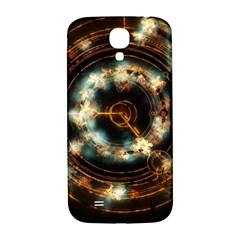 Science Fiction Energy Background Samsung Galaxy S4 I9500/I9505  Hardshell Back Case