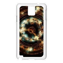 Science Fiction Energy Background Samsung Galaxy Note 3 N9005 Case (White)