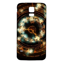 Science Fiction Energy Background Samsung Galaxy S5 Back Case (White)
