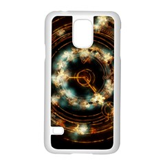 Science Fiction Energy Background Samsung Galaxy S5 Case (White)