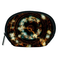 Science Fiction Energy Background Accessory Pouches (medium)