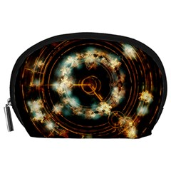 Science Fiction Energy Background Accessory Pouches (Large)