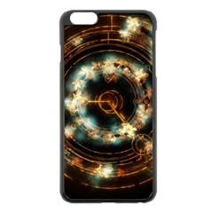 Science Fiction Energy Background Apple iPhone 6 Plus/6S Plus Black Enamel Case