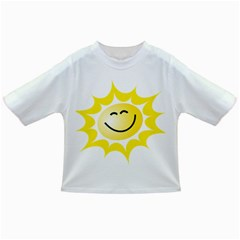 The Sun A Smile The Rays Yellow Infant/Toddler T-Shirts