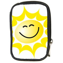 The Sun A Smile The Rays Yellow Compact Camera Cases