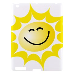 The Sun A Smile The Rays Yellow Apple iPad 3/4 Hardshell Case