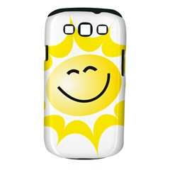 The Sun A Smile The Rays Yellow Samsung Galaxy S III Classic Hardshell Case (PC+Silicone)