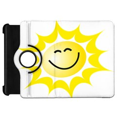The Sun A Smile The Rays Yellow Kindle Fire HD 7
