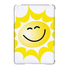The Sun A Smile The Rays Yellow Apple iPad Mini Hardshell Case (Compatible with Smart Cover)