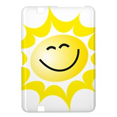 The Sun A Smile The Rays Yellow Kindle Fire HD 8.9
