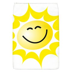 The Sun A Smile The Rays Yellow Flap Covers (S)