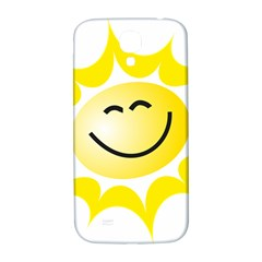 The Sun A Smile The Rays Yellow Samsung Galaxy S4 I9500/I9505  Hardshell Back Case