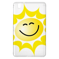 The Sun A Smile The Rays Yellow Samsung Galaxy Tab Pro 8.4 Hardshell Case