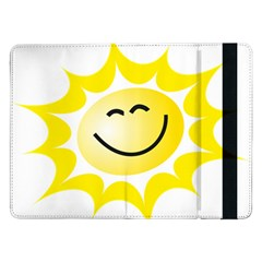 The Sun A Smile The Rays Yellow Samsung Galaxy Tab Pro 12.2  Flip Case