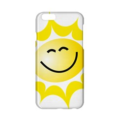 The Sun A Smile The Rays Yellow Apple iPhone 6/6S Hardshell Case