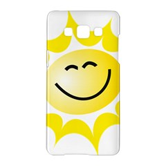 The Sun A Smile The Rays Yellow Samsung Galaxy A5 Hardshell Case