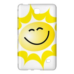 The Sun A Smile The Rays Yellow Samsung Galaxy Tab 4 (8 ) Hardshell Case