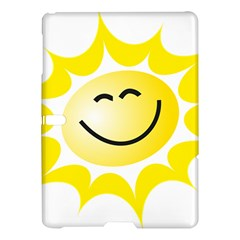 The Sun A Smile The Rays Yellow Samsung Galaxy Tab S (10 5 ) Hardshell Case