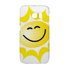 The Sun A Smile The Rays Yellow Galaxy S6 Edge