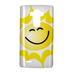 The Sun A Smile The Rays Yellow Lg G4 Hardshell Case