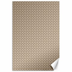 Pattern Ornament Brown Background Canvas 20  x 30