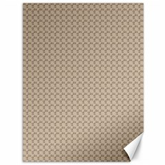 Pattern Ornament Brown Background Canvas 36  X 48