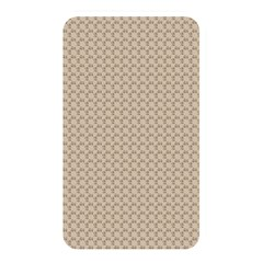 Pattern Ornament Brown Background Memory Card Reader