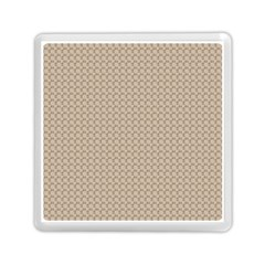 Pattern Ornament Brown Background Memory Card Reader (square)