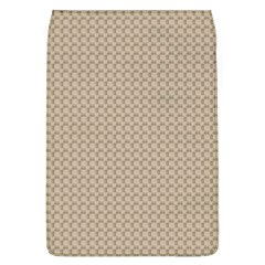 Pattern Ornament Brown Background Flap Covers (L)