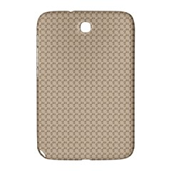 Pattern Ornament Brown Background Samsung Galaxy Note 8.0 N5100 Hardshell Case