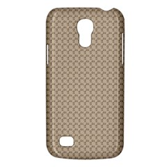 Pattern Ornament Brown Background Galaxy S4 Mini