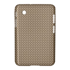 Pattern Ornament Brown Background Samsung Galaxy Tab 2 (7 ) P3100 Hardshell Case