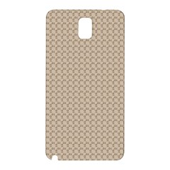 Pattern Ornament Brown Background Samsung Galaxy Note 3 N9005 Hardshell Back Case