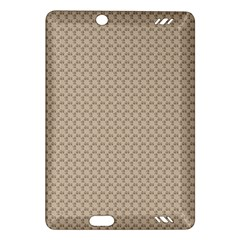 Pattern Ornament Brown Background Amazon Kindle Fire HD (2013) Hardshell Case
