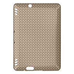 Pattern Ornament Brown Background Kindle Fire HDX Hardshell Case
