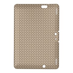 Pattern Ornament Brown Background Kindle Fire Hdx 8 9  Hardshell Case