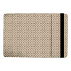 Pattern Ornament Brown Background Samsung Galaxy Tab Pro 10 1  Flip Case