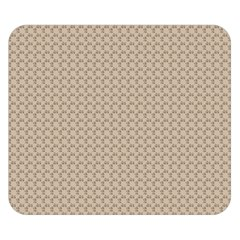 Pattern Ornament Brown Background Double Sided Flano Blanket (small)