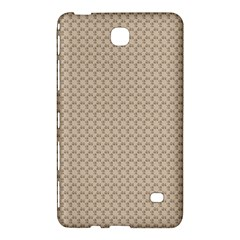 Pattern Ornament Brown Background Samsung Galaxy Tab 4 (8 ) Hardshell Case
